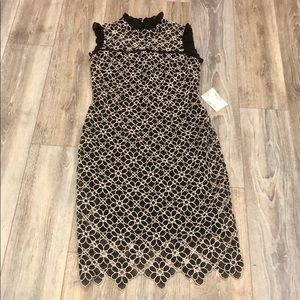 NWT Monique Lhullier floral lace dress